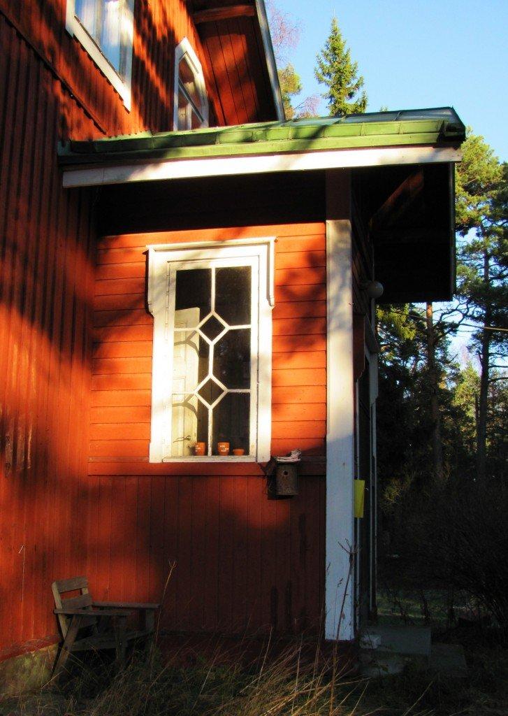 Simsalö skolas fönster